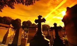 re p lachaise кладбища стоковое изображение rf