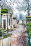 re p lachaise кладбища Стоковые Фото
