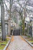 re p lachaise кладбища Стоковое фото RF