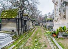 re p lachaise кладбища Стоковое Изображение