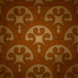 Re  pattern on red grungy background Royalty Free Stock Photo