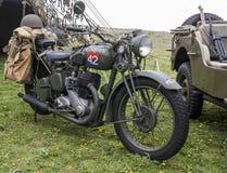 Re-promulgação da segunda guerra mundial Blyth, Northumberland, Inglaterra 16 05 2013 Imagens de Stock Royalty Free