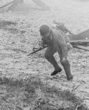 Re-promulgação da segunda guerra mundial Blyth, Northumberland, Inglaterra 16 05 2013 Fotos de Stock