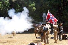 Re-promulgação Duncan Mills 2017 da guerra civil foto de stock
