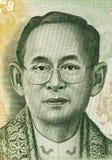 Re Rama IX Fotografia Stock Libera da Diritti