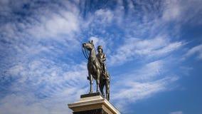 Re Rama V Equestrian Monument fotografia stock