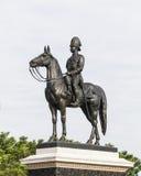 Re Rama V Equestrian Monument fotografie stock