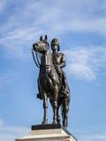 Re Rama V Equestrian Monument immagini stock