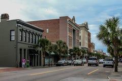 Re storico Street, Charleston, Sc Immagine Stock
