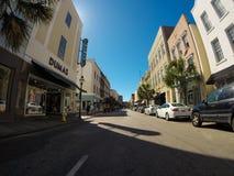 Re storico Street, Charleston, Sc Immagini Stock