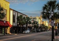 Re Street, Charleston storico, Sc Immagini Stock Libere da Diritti