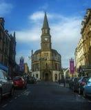 Re Street in Stirling Scotland fotografia stock