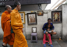 Re tailandese Death immagini stock libere da diritti