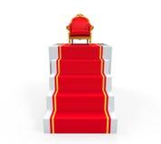 Re Throne Chair Fotografia Stock