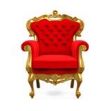 Re Throne Chair Fotografie Stock