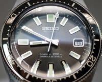 Re-uitgave van het Close-up van Seiko 62MAS Royalty-vrije Stock Afbeeldingen