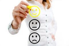 Reação positiva Imagens de Stock Royalty Free
