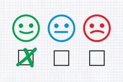 Reação positiva ilustração royalty free