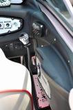Área de controle complexa de um iate Imagem de Stock
