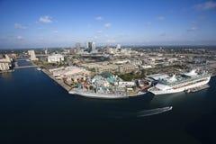 Área de Tampa Bay. Imagens de Stock Royalty Free