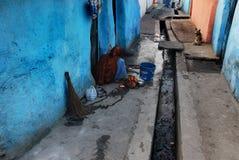 Área de tugurios india Foto de archivo libre de regalías
