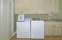 Área do interior da lavandaria Imagens de Stock