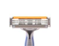 Área eficaz de afeitar la maquinilla de afeitar. Fotografía de archivo