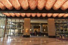 Área en Las Vegas, nanovoltio del registro del centro turístico de M el 20 de agosto de 2013 Foto de archivo libre de regalías