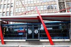 Rea Vaya Transportsystem, Johannesburg Stockbild
