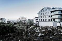 Reabilitação urbana na região de Marmara de Turquia Imagens de Stock