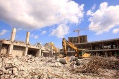 Reabilitação urbana no centro de cidade Foto de Stock