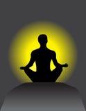 Reach Meditation in Your Body & Heart. Reach Meditation in Your Body & Heart - Background & Wallpaper Stock Photos