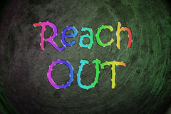 Reach Out Concept Stock Photo