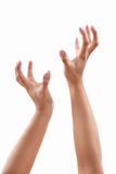Reach out hands Royalty Free Stock Photography