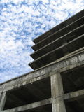 Reach the sky. Architectural ruine in Kuala Lumpur, Malaysia royalty free stock photography