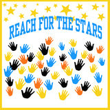 Reach the stars Stock Images