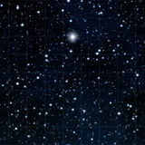 Reach for the stars with bright star Royalty Free Stock Images