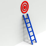 Reach target Royalty Free Stock Image