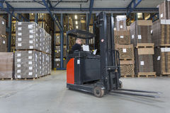 Reach Truck Stock Photos