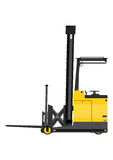 Reach truck Stock Photo