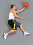 Reaching for ball Royalty Free Stock Image