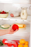 Reaching for food Royalty Free Stock Photo