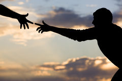 Free Reaching For Help Stock Photography - 9333582