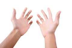 Free Reaching Hands 1 Royalty Free Stock Photo - 1056465