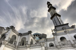 Reaching for the Heavens. Photo of a Mosque with Beautiful Sky Royalty Free Stock Photography