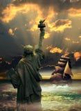 Reaching Liberty Royalty Free Stock Photos