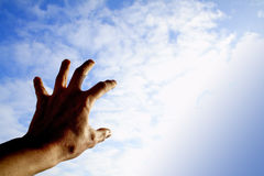 Reaching out for the sky Royalty Free Stock Images