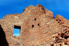 Reaching Ruins royalty free stock images