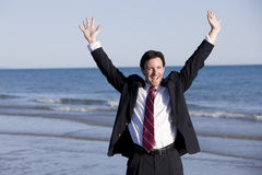 Reaching for Success Royalty Free Stock Image