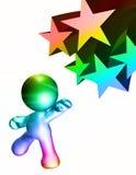 Reaching Success Stars